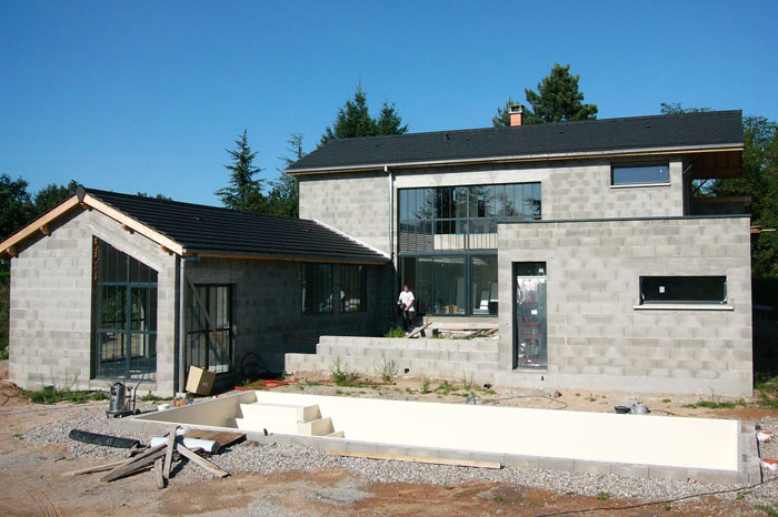 etapes construction maison